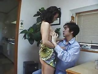 japanese woman gives inside