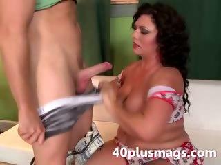 sexy fat latin lady