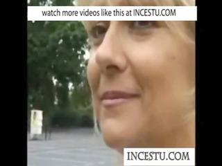 mom and son at incestu.com