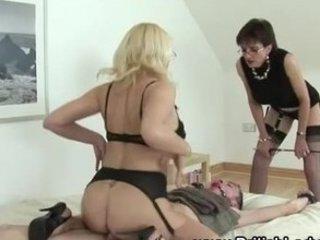 cougar bondage femdom bang