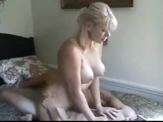 giant breasted lady pierced by fresher male
