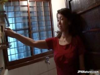 big breast japanese woman worships pleasing