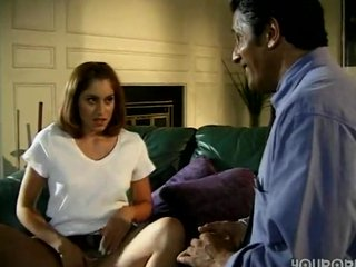 daughter seduced elderly dad in absence of mom