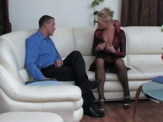 bleached russian woman obtains tasted and next