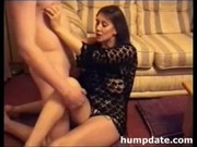 busty brunette lady gets fucked and defaced