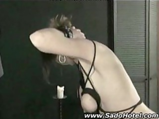 old slave humiliated by her master bdsm bondage