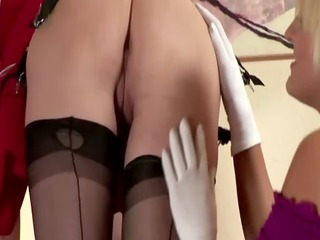 grownup lingerie woman homosexual woman mouth