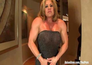 aziani steel older bodybuilder wanda moore big