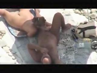 cougar pair caught drilling on seaside by voyeur