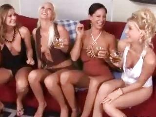 classy naughty woman babes having crazy lesbo