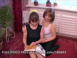 russian milf and angel