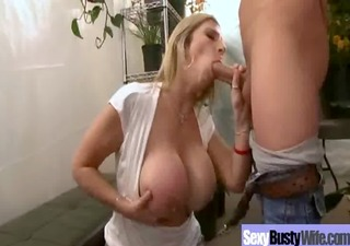 sexy breasty mommy get hardcore group sex action