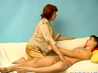 mature lady and son 001