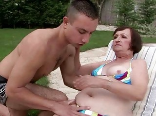 ugly elderly having fuck with amateur male