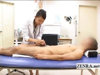 cfnm japanese woman medic bathes patients uneasy