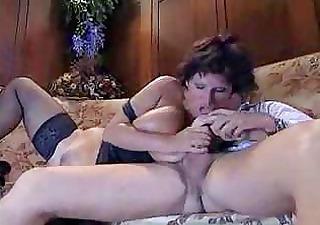 italian older aunty fucking with juvenile guy