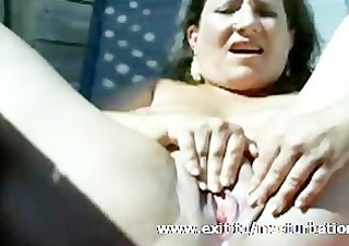 outdoor squirting 44 years busty katja