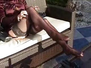 cougar satin outside